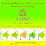 Cover page IJIST Vol 1 Issue 1