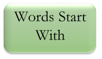 words start with